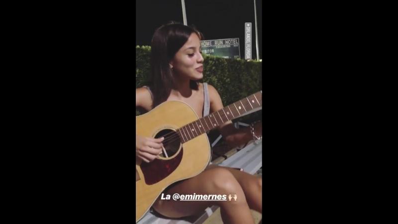 Maxi Espindola on instagram 14 07 18