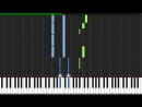 Cara Mia Addio (Turret Opera) - Portal 2 [Piano Tutorial] (Synthesia)