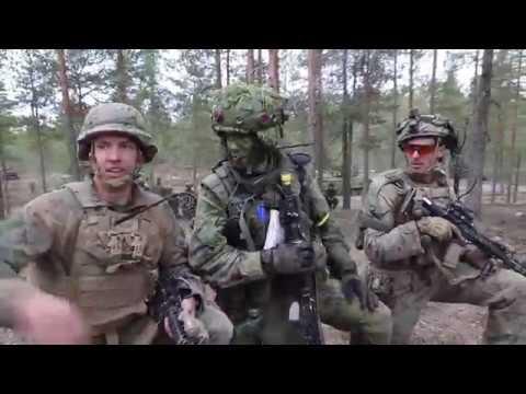 2nd LAR Force-on-Force Train During Arrow 19, Finland NIINISALO GARRISON, FINLAND 05.09.2019