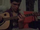 На гитаре l ete Indien (Joe Dassin)