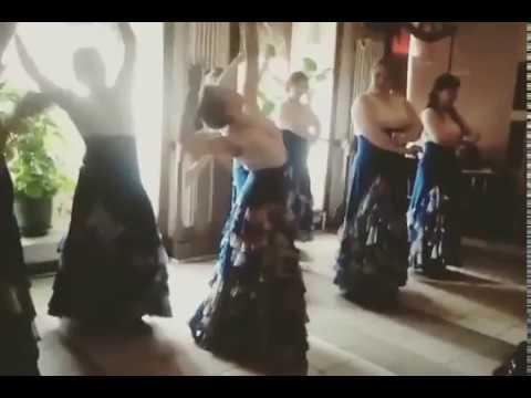 Первый TANGOS начинающей группы фламенко 13.04.2014