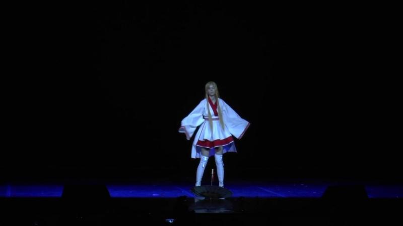 Tsunami -Asuna Yuuki cosplay )Stage performance )Anicon 2018