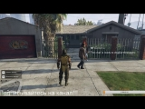 GTA V Скорпион уничтожает Лос-Сантос