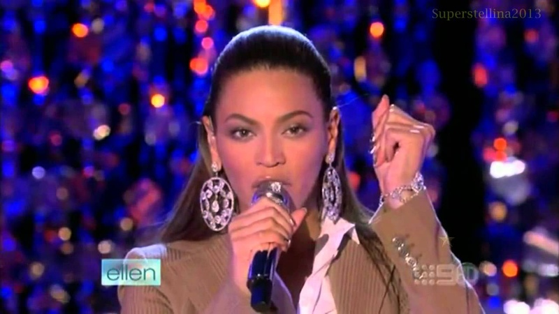 Beyoncé If I Were A Boy - (Live On Ellen Show) - HD
