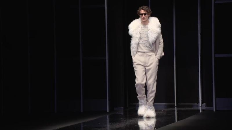 Emporio Armani FW19-20 Men's Fashion Show: Video