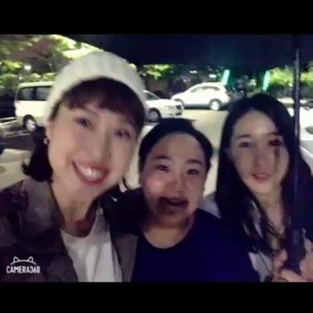 "Soon Mi Heo on Instagram ""뮤지컬빨래 비오는 날이면 새벽에 낙상공원이지(오타) 낙산공원 ㅋ"