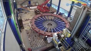 Обработка кольца направляющего гидроагрегата СТ №5 АО