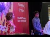 Звёзды сериала «Кухня» Ольга Кузьмина и Виктор Хориняка в Ростове на Дону. Шоу