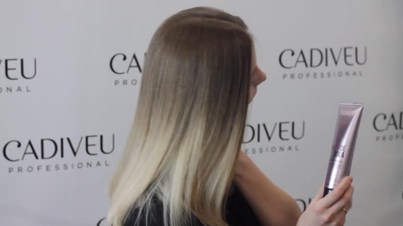 Blond Idea тонирующая маска для блондинок