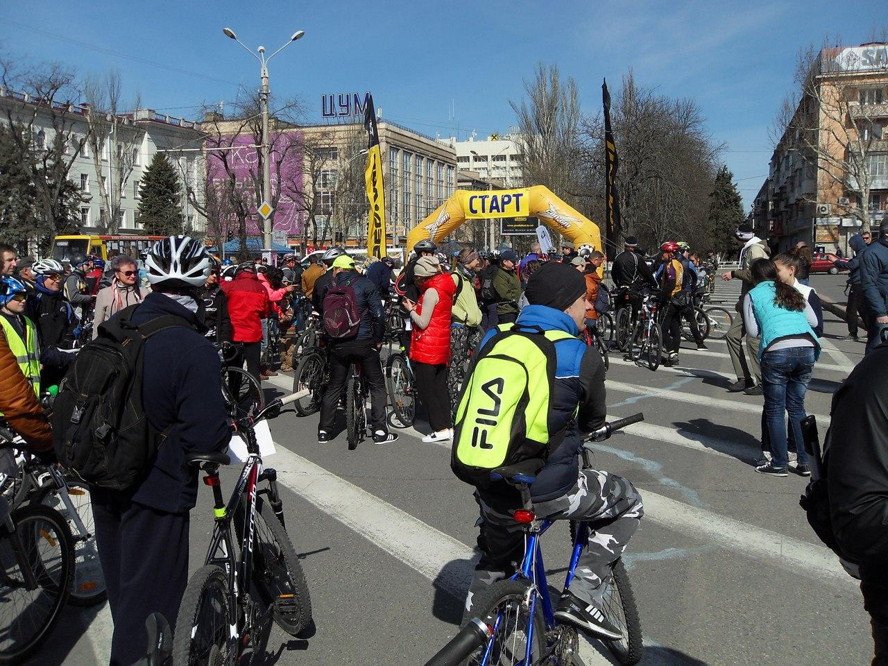 Репортаж с марафона «Херсонские велопятьдесят», посвященного 25-летию со дня Независимости Украины