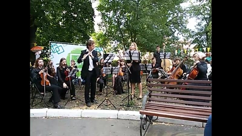 А. Вивальди Концерт для двух флейт