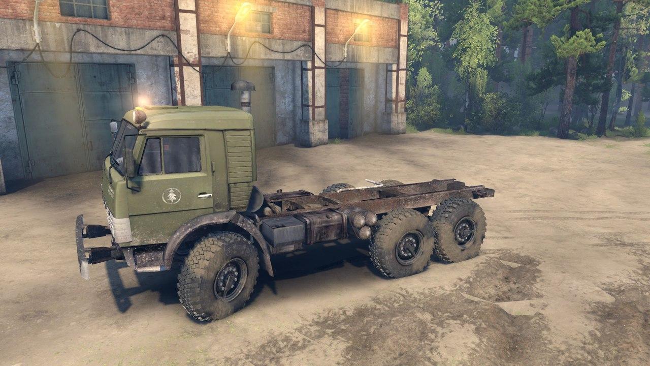КамАЗ-43114 для Spintires - Скриншот 1