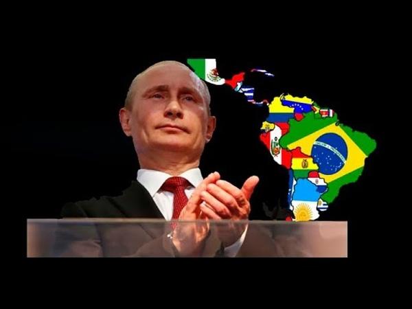 EEUU aterrorizado por la influencia de Rusia y China en Latinoamérica Busca cómo contrarrestarlos