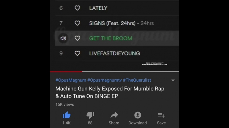 MGK mumble rapper