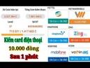 Kiếm Card Điện Thoại 10.000 Đồng Miễn Phí Dễ Nhất Sau 1 Phút Online Với Tozaco
