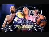 (WWE Mania) WrestleMania XXV Edge (c0 vs Big Show vs John Cena - World Heavyweight Championship