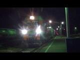 Электровоз 2ЭС4К-123 с поездом №496 Адлер — Кострома
