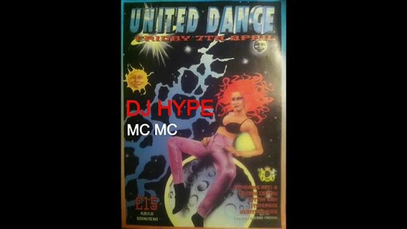 Mc' UNITED MG DANCE 1994 JUNGLE MIX