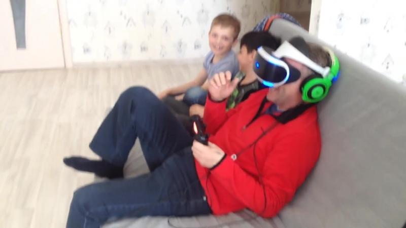 Реакция на VR хоррор