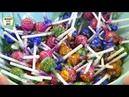 Открываем 90 Чупа Чупсов с наклейками Смурфики Затерянная деревня (Chupa Chups Smurfs)