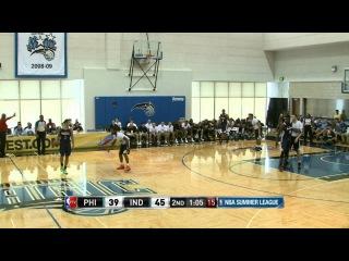Philadelphia 76ers vs Indiana Pacers Summer League Recap