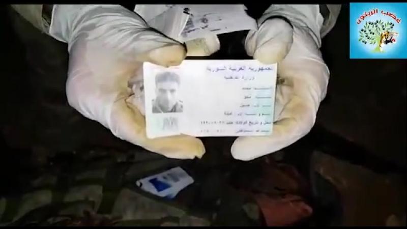 Syrian Civil War Map Wrath of Olives Operation Room killed Turkishbacked jihadist Muhammad Hayyani of Levant Front between AlBa