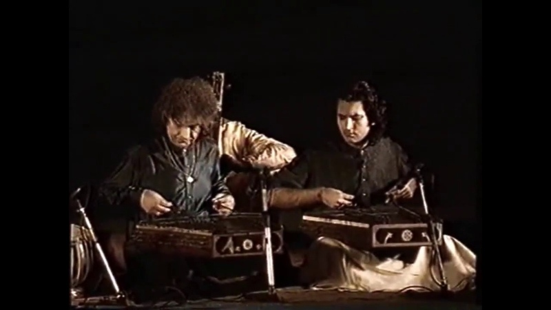 ShivKumar Sharma Rahul Sharma Raga Kaunsi Kanada Full (Kashmir Sufiana Music)