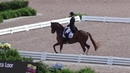 Julio Mendoza and Chardonnay for Ecuador. World Equestrian Games 2018. Tryon, N.C. USA