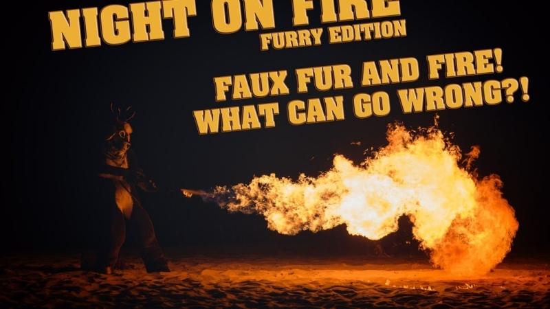 Night on Fire - Fursuit Music Video (Keks ver.)
