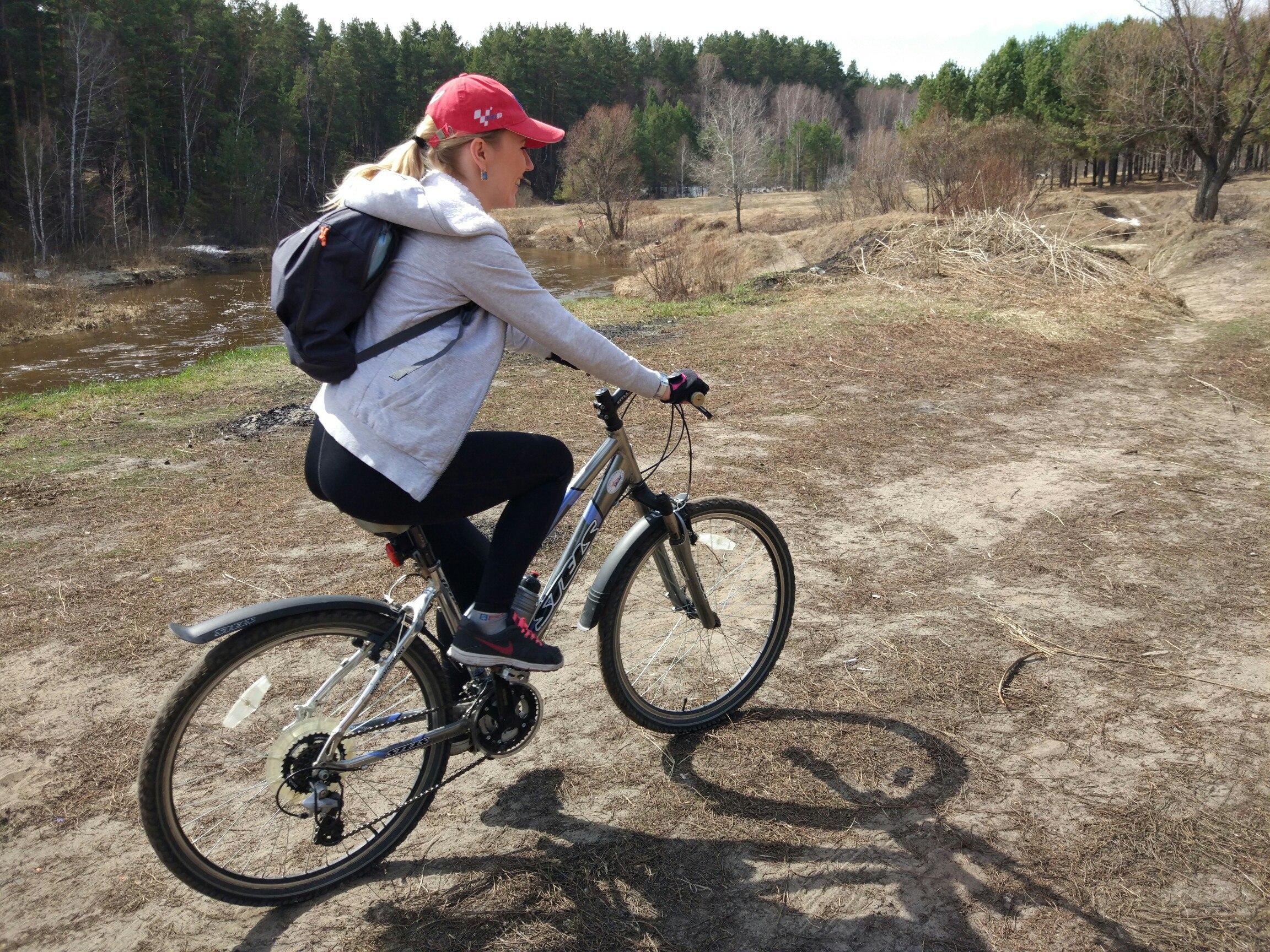 Места для велопрогулки в Барнауле