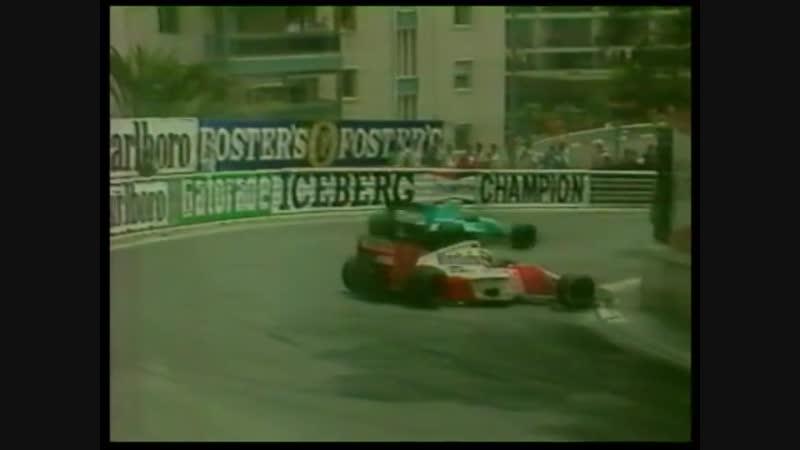 17 летний Алексей Попов на Гран При Монако 1992