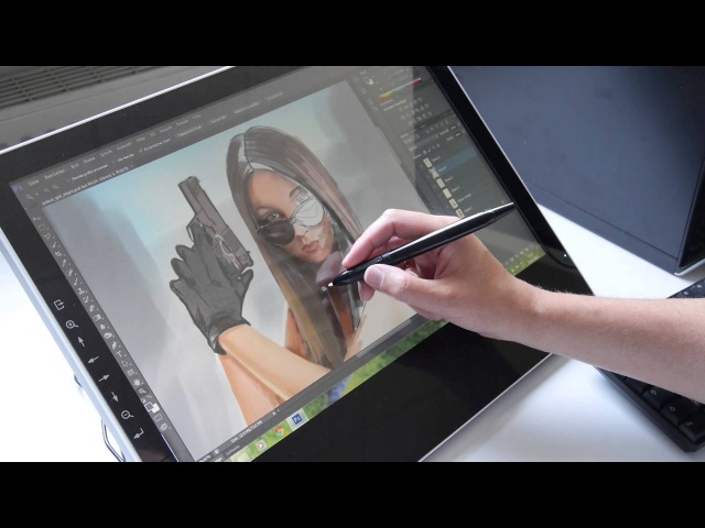 Tablet Monitor Yiynova msp19u im Test Review