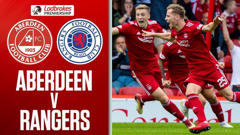 Aberdeen 1-1 Rangers | Anderson Grabs Late Equaliser After Morelos Red Card | Ladbrokes Premiership