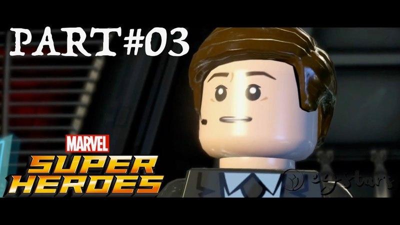 LEGO Marvel Super Heroes Co op Walkthrough Part 3 Red Head Detention