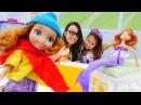 Eğiticivideo: Prenses Sofıa👸DENİZKIZI🧜♀️olmuş! Dönüştürme doktoroyunları kız çocuklar için
