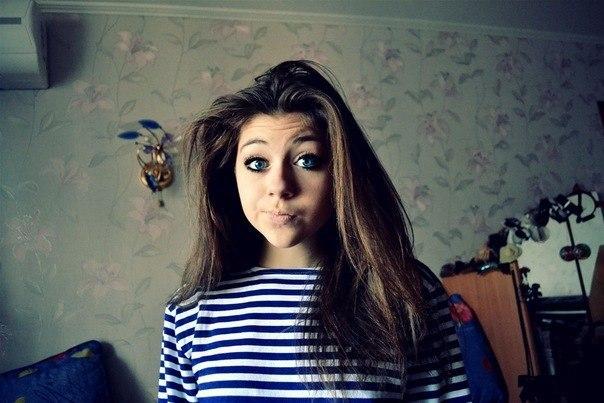 Дівчина з блакитними очами