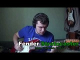 Musima Lead Star I vs. Fender Stratocaster [Under The Bridge (RHCP cover)]