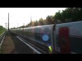 Поезд 'Стриж' проходит через пл.43 км..mp4
