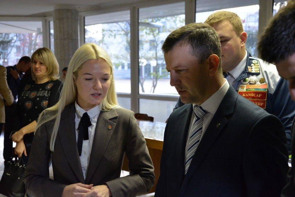 Церемония закрытия третьего трудового семестра состоялась в Бресте