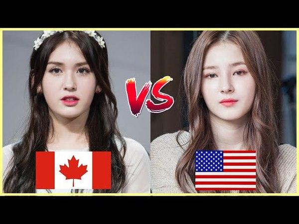 Half Korean Beauties Battle I O I SOMI vs MOMOLAND NANCY
