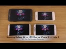 Samsung Galaxy S4 vs. HTC One vs. iPhone 5 vs. Note 2 - GTA Vice City Gameplay Comparison