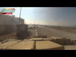Удар по опорному пункту боевиков в Адре. Прикрытие десанта