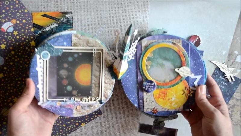 Видео-обзор Мини-альбом Илюшкина планета