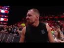 RAW The Shield vs Baron Corbin AOP Sept 24 2018
