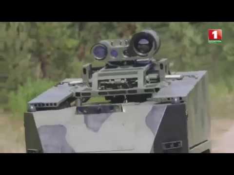 Роботизированный противотанковый комплекс Богомол ТЕХНИКА ПАРАДА