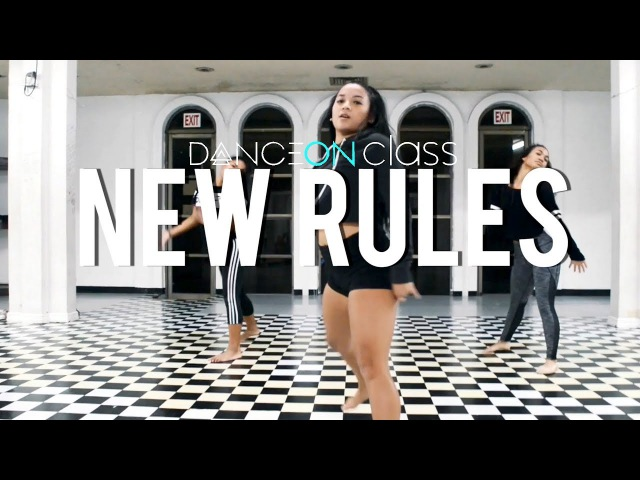 Dua Lipa - New Rules   Brian Esperon Choreography   DanceOn Class