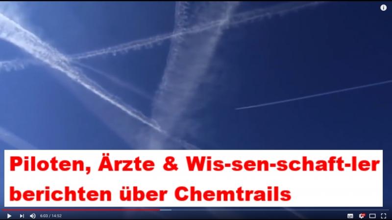 Piloten, Ärzte Wissenschaftler berichten über Chemtrails