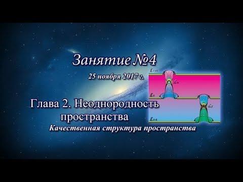 ✾ Константин Майоров «Неоднородная Вселенная» - Курс 4 Занятие 4 (2017.11.25)