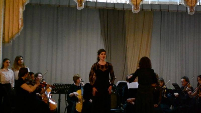 Отчётный концерт :Вокального отделения Stabat mater