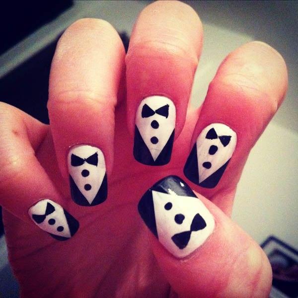 Как накрасить ногти в домашних условиях картинки